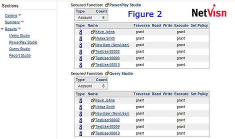 netvisn powerplay studio and query studio screenshot