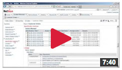 cognos report versioning demo video