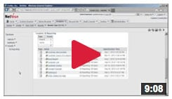 cognos data lineage demo video
