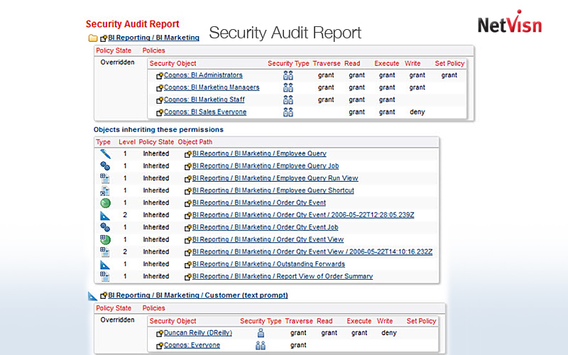 security audit report