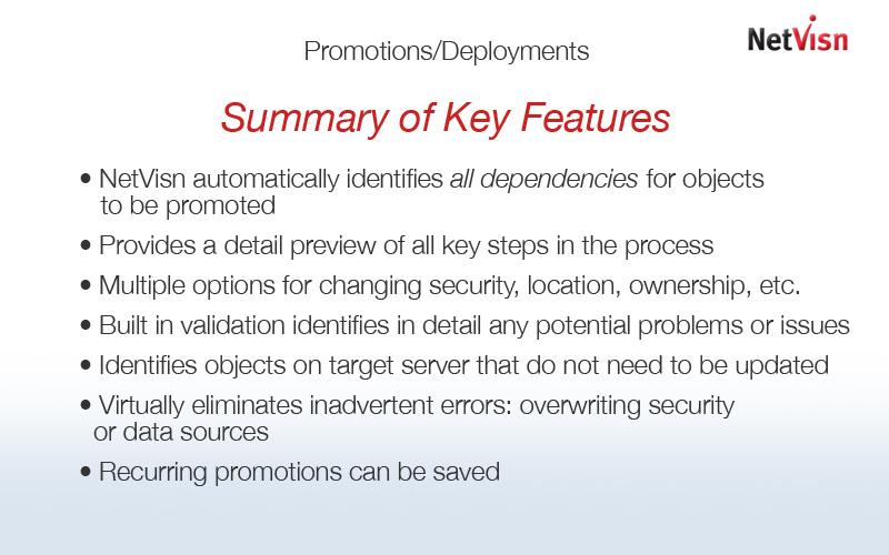 netvisn promotions key features