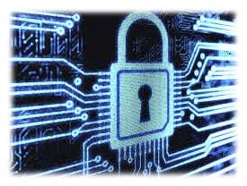 graphic of digital padlock representing cognos security