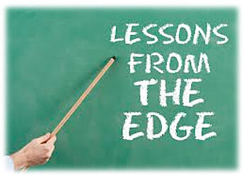 chalkboard reading lessons from the edge