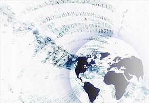 audit data 1s and 0s around globe