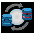 cognos database dependecy icon