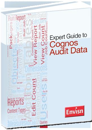 cognos audit data expert guide