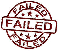 failed report in cognos