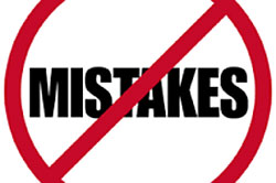mistakes in cognos security