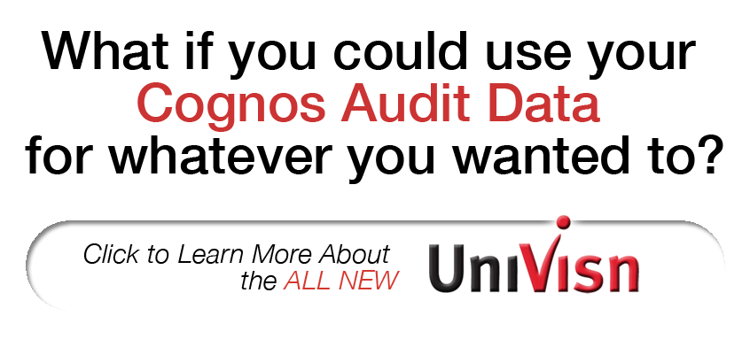 use cognos data for whatever you want to with univisn click here